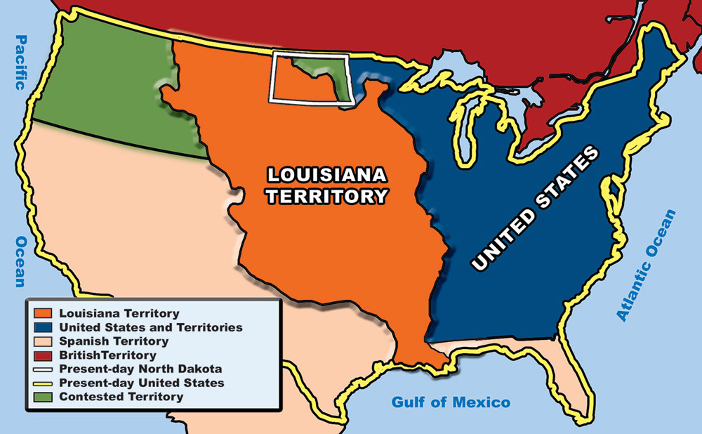 Louisiana Purchase of 1803 FREE American History Lesson Plans
